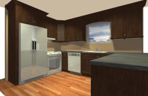 Kitchen design work